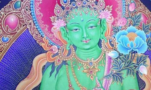 OM TARE TUTTARE TURE SOHA (Thần chú Tara Xanh – Lục độ Phật mẫu Tara)